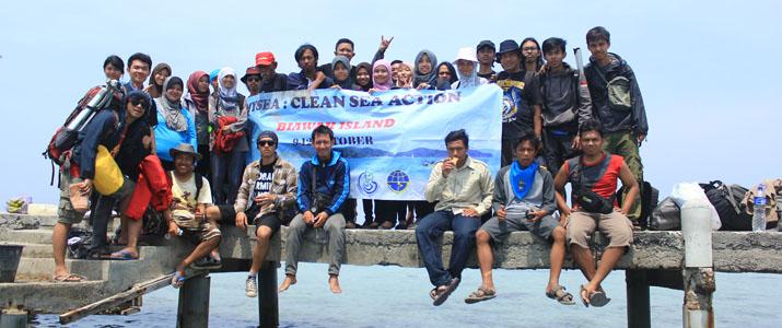 Kegiatan Mahasiswa Fieldtrip ke Pulau Biawak