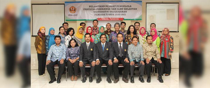 Para Pejabat Pengelola FPIK Unpad Periode Thn. 2016-2021