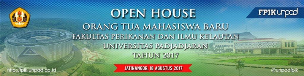 Kuliah Umum oleh Menteri KKP dan Open House Orang Tua Mahasiswa Baru