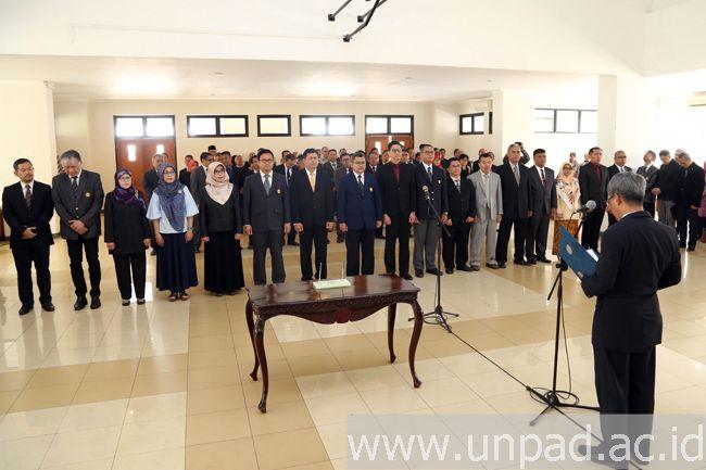 Dekan dan Wakil Dekan Baru Resmi Dilantik, Kini FPIK Unpad Punya Pimpinan yang Baru
