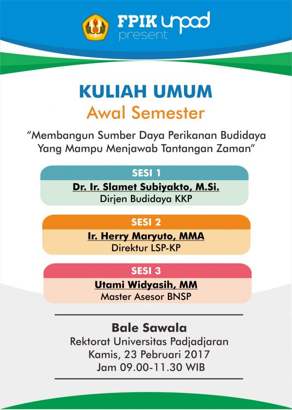 Kuliah Umum Awal Semester