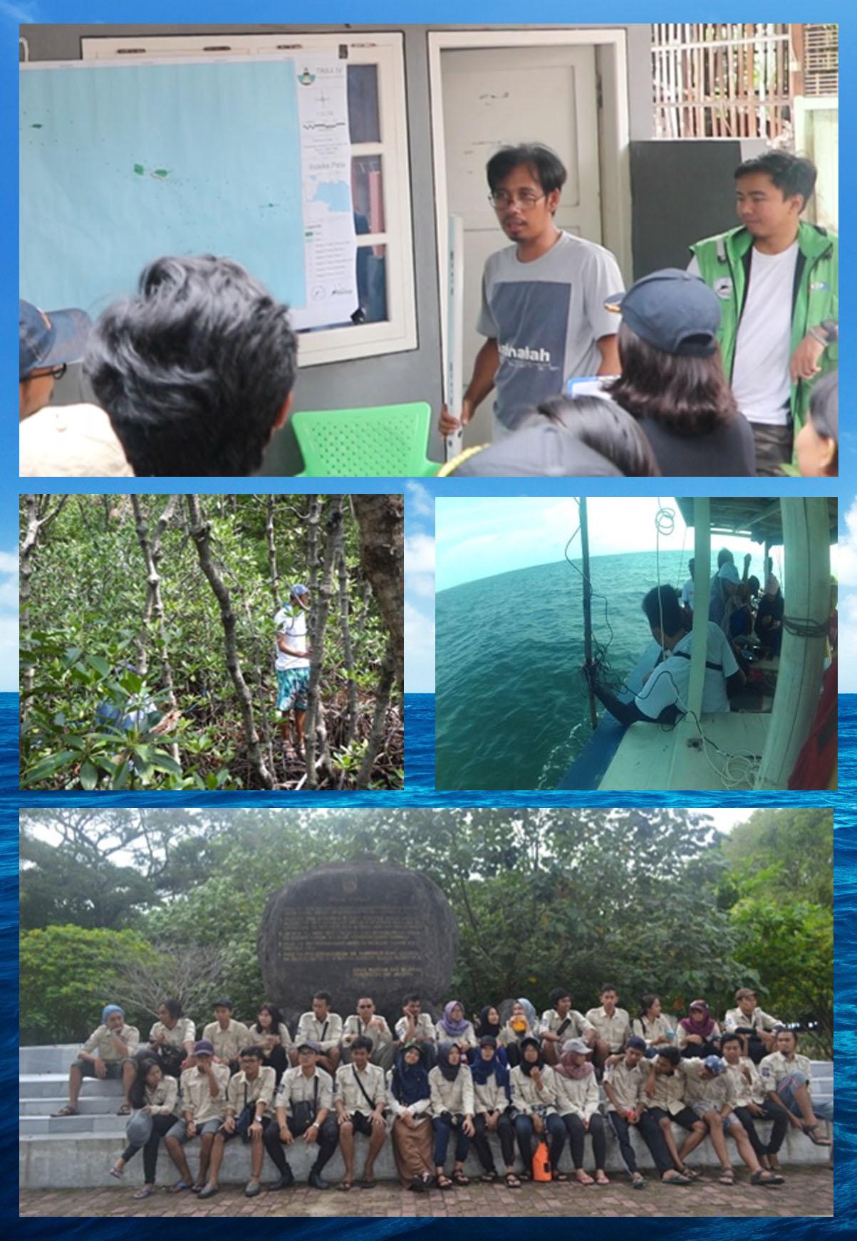 Ekspedisi T-Rax Komitmen Pulau Untung Jawa